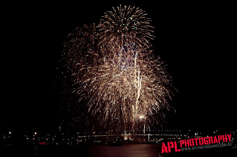 FIREWORKS MARKS A YEAR FOR APL