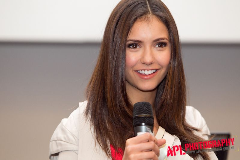 Elena aka Nina Talks to fans about her love for Vampires