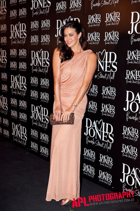 MEGAN GALE @ David Jones Launch