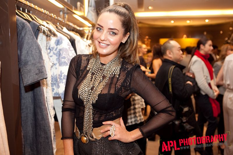Amber Renae at Raoul Launch