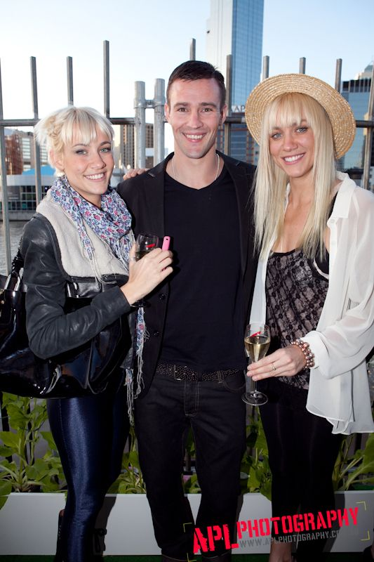 Kris Smith with the Nervo's