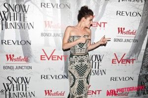 Kristen Stewart @ the event of Snow White & The Huntsman