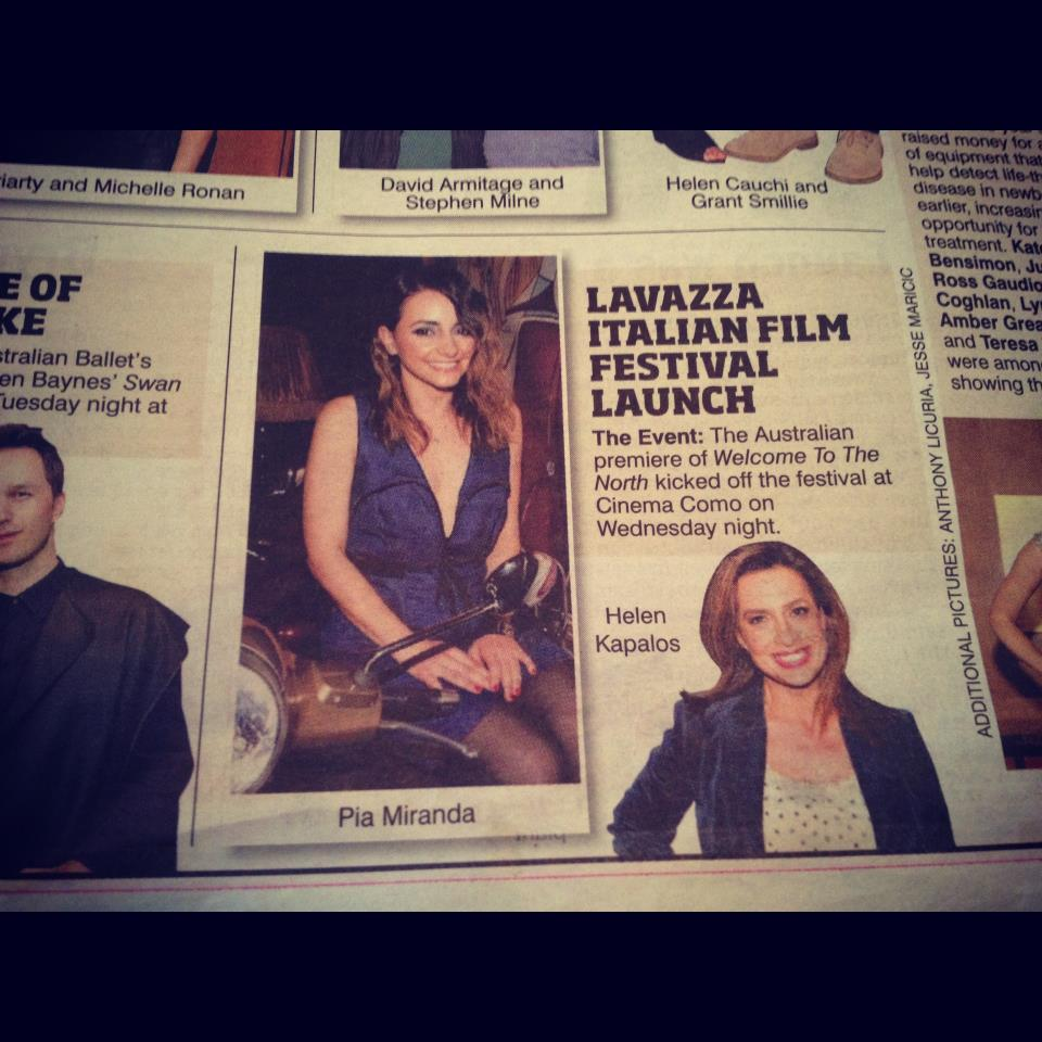 LAVAZZA ITALIAN FILM FESTIVAL - SNAPPED BY APL